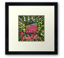 Bold and Beautiful - Keukenhof Tulips Collage Framed Print