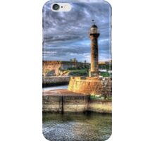 Whitby Harbour on the North Yorkshire Coast iPhone Case/Skin