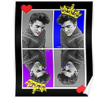 KING OF HEARTS X4 Poster