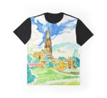 Edensor Village, Derbyshire Graphic T-Shirt