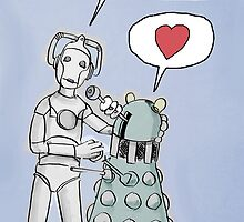 cyberdalek love by Loui  Jover