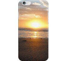 Sun on the horizon - Apollo Bay, Victoria iPhone Case/Skin