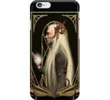 Thranduil and the Arkenstone iPhone Case/Skin