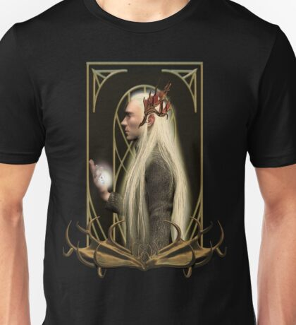 Thranduil and the Arkenstone Unisex T-Shirt
