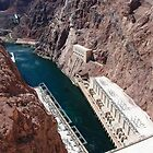 Hydroelectric Plant - Hoover Dam by John Schneider