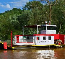 Boone No. 7 Anderson Ferry Cincinnati,Ohio - Constance, Kentucky by Ron Russell