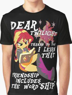 "Friend ""ship"" is magic! Graphic T-Shirt"