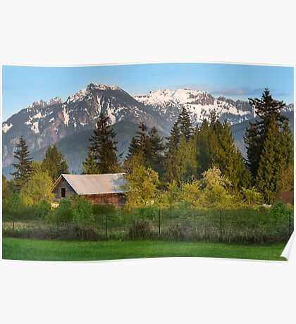 Haystack Mountain Poster