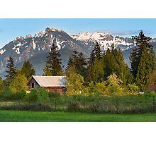 Haystack Mountain Photographic Print