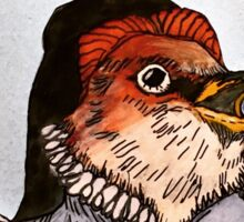 Oh Starling...The Bard And The Bird II Sticker