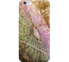 UV Spider Web iPhone Case/Skin