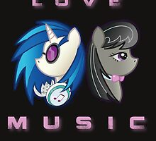 Love the Music by DistopiaDesing