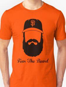 Fear The Beard (black) T-Shirt