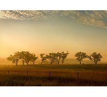 Smokey Sunset #3 ~ Cootamundra (NSW) Photographic Print