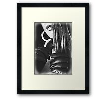 There Is No Safe Word Framed Print
