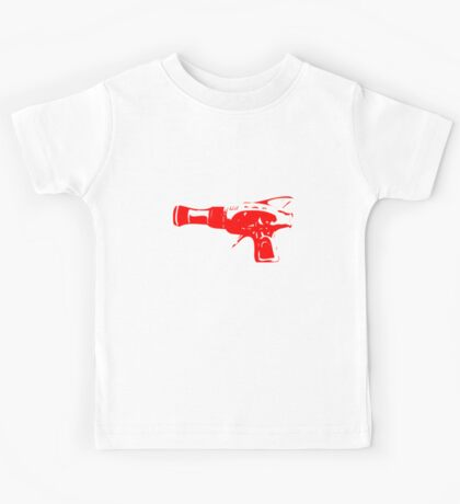 Alien Ray Gun - Red Kids Tee