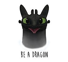 Be a Dragon Photographic Print