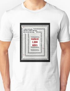 1000 Miles T-Shirt