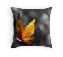 Suspend B'leaf Throw Pillow