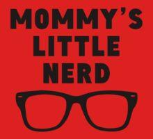 Mommy's Little Nerd One Piece - Long Sleeve