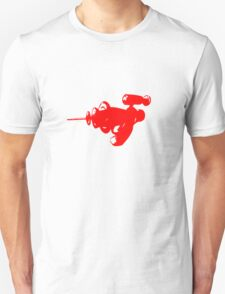 Alien Ray Gun - Red T-Shirt