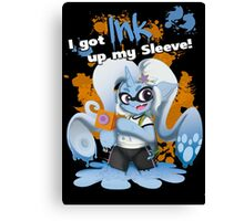 Ink up my Sleeve! Canvas Print