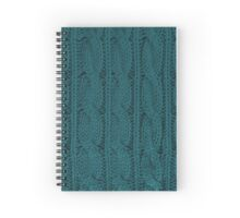 Knit Spiral Notebook