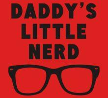 Daddy's Little Nerd Baby Tee