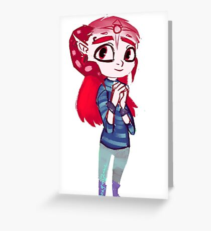 Ephemeris chibi Greeting Card