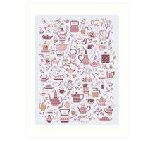 Teapots #1 Art Print