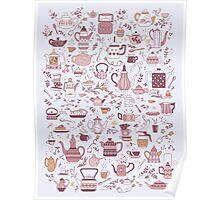 Teapots #1 Poster
