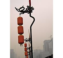 Lanterns in the Mist Photographic Print