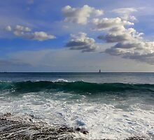 cherub skies (above Hawaii) by Angelika Sielken