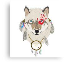 Spirited Wolf Canvas Print