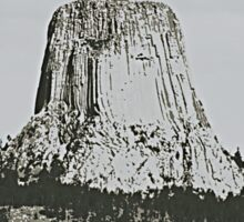 Devils Tower Stamp Sticker
