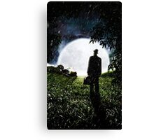 The Little Observer Canvas Print