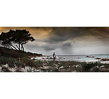 Searching for Surf Photographic Print