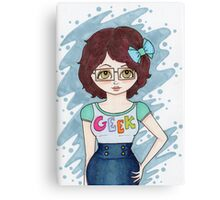 """Geek"" Canvas Print"