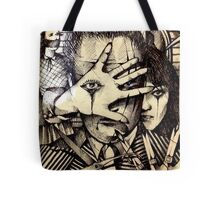 Playing With Scissors  Tote Bag