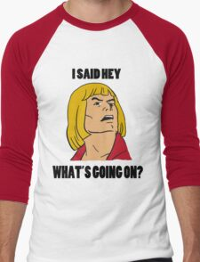 He-Man Men's Baseball ¾ T-Shirt