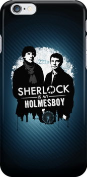 Sherlock iPhone Case by Tom Trager