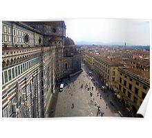 Florence duomo church Poster