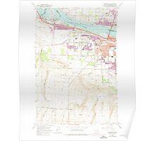 USGS Topo Map Washington State WA Kennewick 241757 1964 24000 Poster