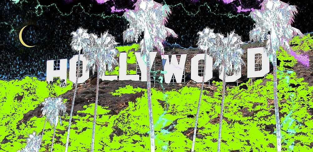HOLLYWOOD PALMS by SAMUEL VETA