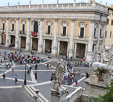 Piazza del Campidoglio, Roma by Ben Fatma Marc