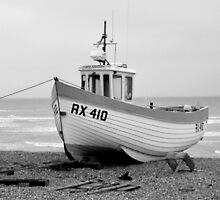 Fishing Boat at Dungeness  by hootonles