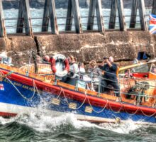 Whitby's Old Lifeboat, RNLI Mary Ann Hepworth Sticker