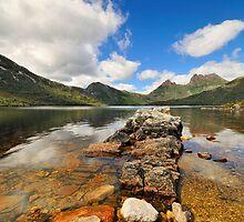Towards the Cradle - Cradle Mountain, Tasmania Australia by bevanimage