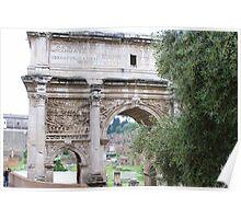 Arco di Settimio Severe, Roma Poster