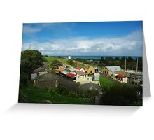 Flagstaff Hill Historical Village Vic Greeting Card
